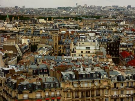 Paris vue depuis la tour Eiffel